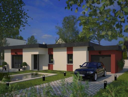 Maison+Terrain à vendre .(100 m²)(BARENTIN) avec (MAISONS FRANCE CONFORT)