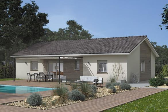 Maison+Terrain à vendre .(80 m²)(BOEN) avec (MAISONS FRANCE CONFORT)
