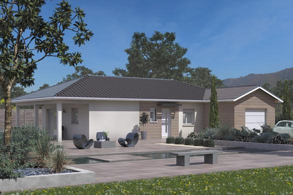 Maison+Terrain à vendre .(90 m²)(BOEN) avec (MAISONS FRANCE CONFORT)