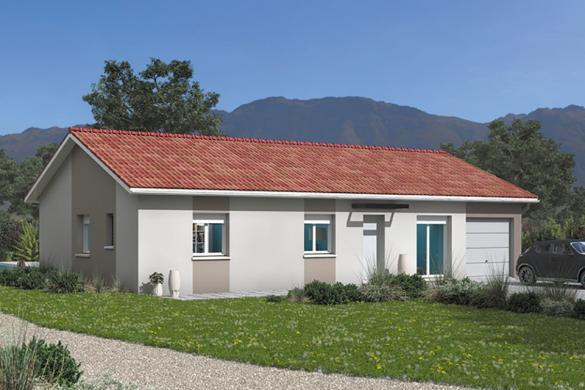Maison+Terrain à vendre .(103 m²)(BOEN) avec (MAISONS FRANCE CONFORT)