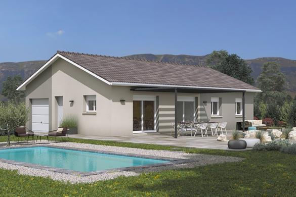 Maison+Terrain à vendre .(90 m²)(MONTLUEL) avec (MAISONS FRANCE CONFORT)