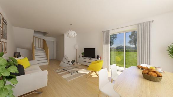 Maison+Terrain à vendre .(100 m²)(BEAUREGARD) avec (MAISONS FRANCE CONFORT)