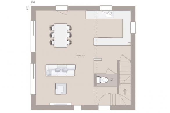 Maison+Terrain à vendre .(80 m²)(VILLEFRANCHE SUR SAONE) avec (MAISONS FRANCE CONFORT)