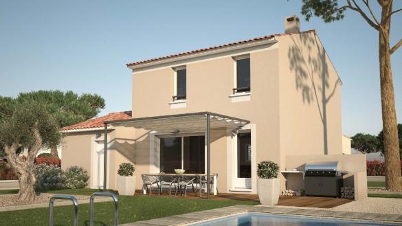 Maison+Terrain à vendre .(78 m²)(SAINT MATHIEU DE TREVIERS) avec (MAISONS FRANCE CONFORT)