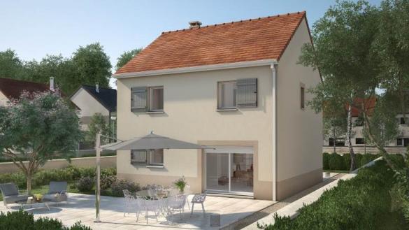 Maison+Terrain à vendre .(93 m²)(CRECY LA CHAPELLE) avec (MAISONS FRANCE CONFORT)