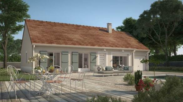 Maison+Terrain à vendre .(92 m²)(MARCILLY) avec (MAISONS FRANCE CONFORT)