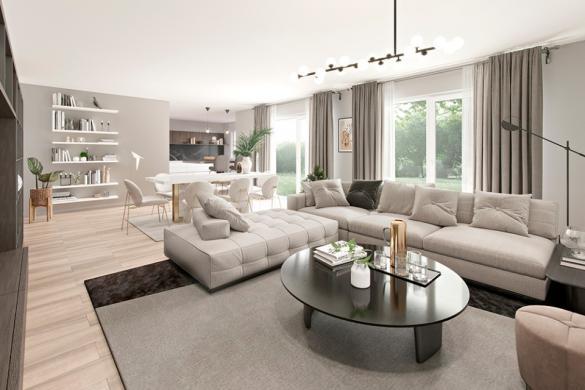 Maison+Terrain à vendre .(160 m²)(CRECY LA CHAPELLE) avec (MAISONS FRANCE CONFORT)