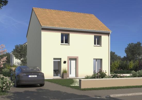 Maison+Terrain à vendre .(102 m²)(CHATEAU THIERRY) avec (MAISONS FRANCE CONFORT)
