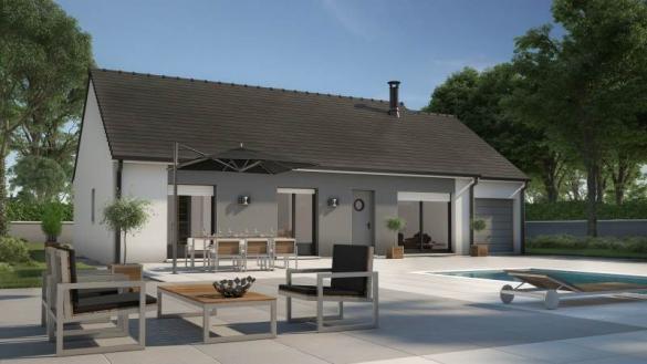 Maison+Terrain à vendre .(92 m²)(SAINT MARTIN EN BIERE) avec (MAISONS BALENCY)