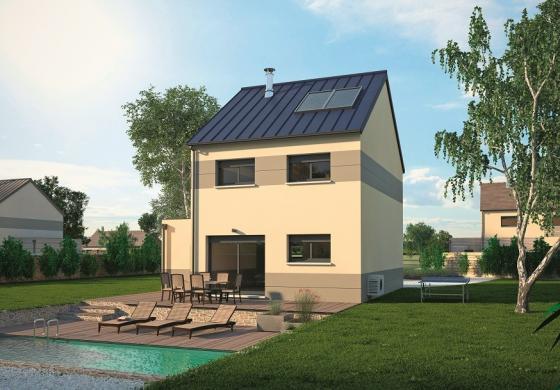Maison+Terrain à vendre .(90 m²)(SAMOIS SUR SEINE) avec (MAISONS BALENCY)