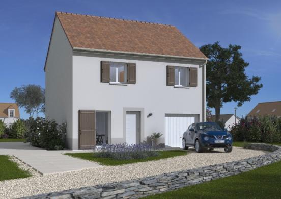 Maison+Terrain à vendre .(89 m²)(MENNECY) avec (MAISONS BALENCY)