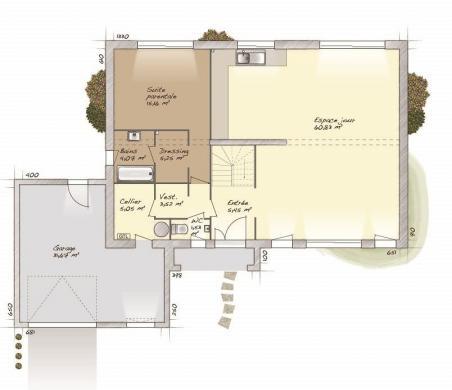 Maison+Terrain à vendre .(200 m²)(BARBIZON) avec (MAISONS BALENCY)