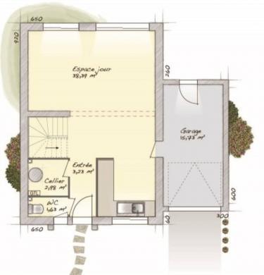 Maison+Terrain à vendre .(90 m²)(SAINT FARGEAU PONTHIERRY) avec (MAISONS BALENCY)