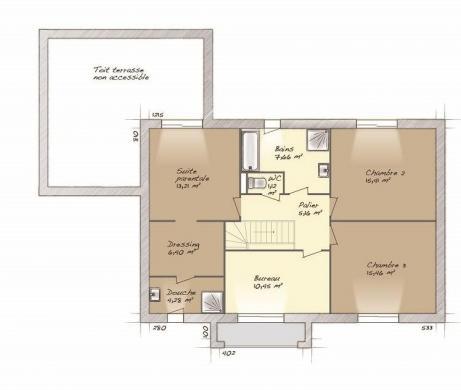 Maison+Terrain à vendre .(160 m²)(BOUAFLE) avec (MAISONS BALENCY)