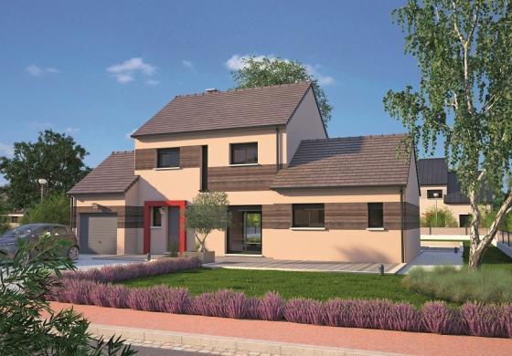 Maison+Terrain à vendre .(90 m²)(MAREIL SUR MAULDRE) avec (MAISONS BALENCY)