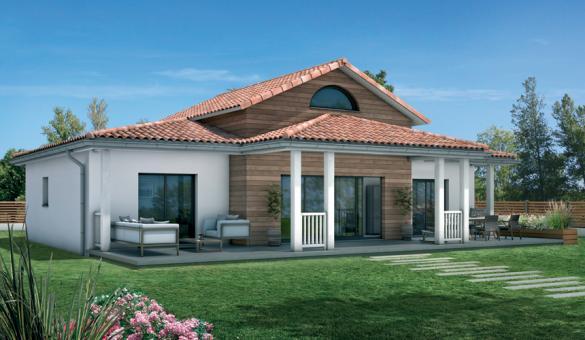 Maison+Terrain à vendre .(136 m²)(LE TAILLAN MEDOC) avec (MAISONS SANEM)