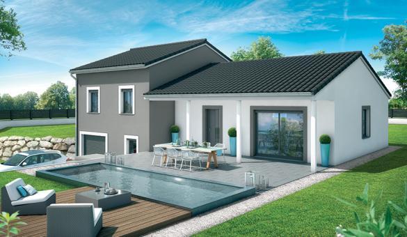 Maison+Terrain à vendre .(89 m²)(CAMBLANES ET MEYNAC) avec (MAISONS SANEM)