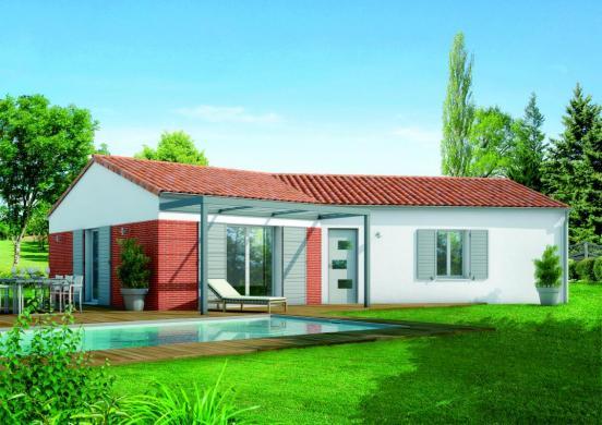 Maison+Terrain à vendre .(95 m²)(LA TESTE DE BUCH) avec (MAISONS SANEM)