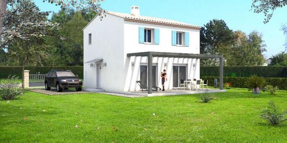 Maison à vendre .(90 m²)(VILLENEUVE LES AVIGNON) avec (VILLAS INDIVIDUELLES LA PROVENCALE)