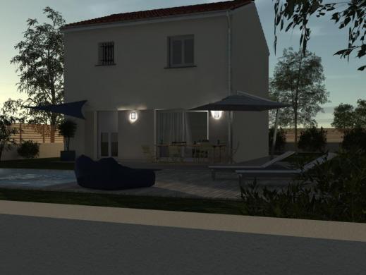 Maison à vendre .(85 m²)(MONTELIMAR) avec (SAFIR CONSTRUCTEUR)
