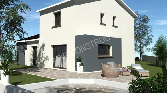 Maison à vendre .(86 m²)(SERVES SUR RHONE) avec (SAFIR CONSTRUCTEUR)