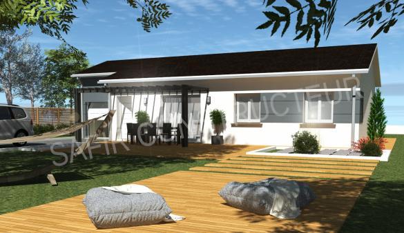 Maison à vendre .(110 m²)(SAINT MARCEL LES SAUZET) avec (SAFIR CONSTRUCTEUR)