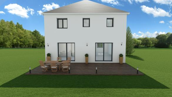 Maison à vendre .(115 m²)(FONTENAY TRESIGNY) avec (LES MAISONS BARBEY MAILLARD)
