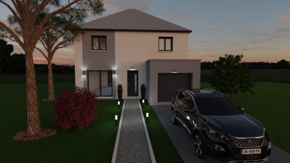 Maison à vendre .(115 m²)(PONTCARRE) avec (LES MAISONS BARBEY MAILLARD)