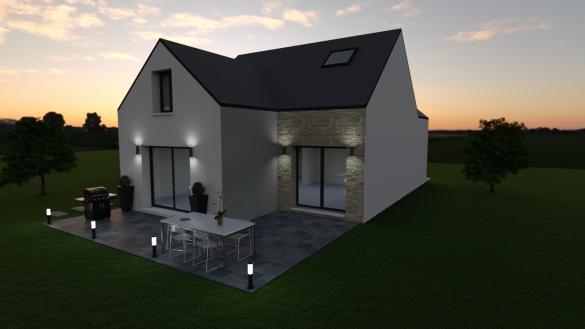 Maison à vendre .(140 m²)(JOSSIGNY) avec (LES MAISONS BARBEY MAILLARD)