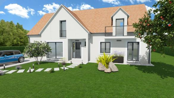 Maison à vendre .(95 m²)(FONTENAY TRESIGNY) avec (LES MAISONS BARBEY MAILLARD)