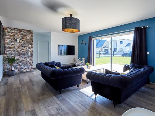 Maison+Terrain à vendre .(140 m²)(CHAPET) avec (MAISON FAMILIALE MANTES)