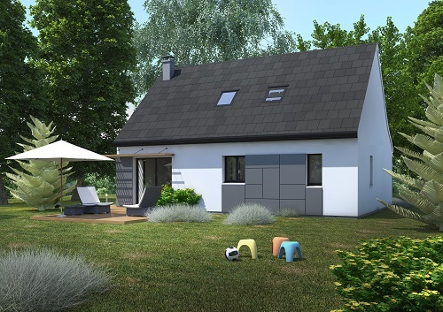 Maison+Terrain à vendre .(97 m²)(SAMMERON) avec (MAISONS.COM)