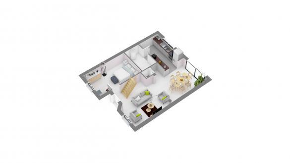 Maison+Terrain à vendre .(105 m²)(ARMANCOURT) avec (MAISONS.COM)