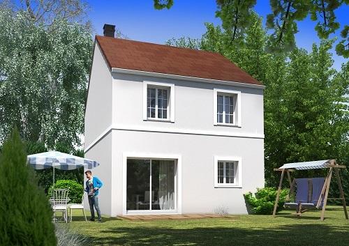 Maison+Terrain à vendre .(105 m²)(VAUJOURS) avec (MAISONS.COM)