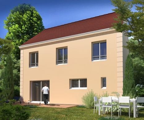Maison+Terrain à vendre .(128 m²)(SAMMERON) avec (MAISONS.COM)