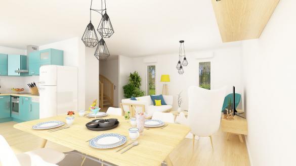 Maison+Terrain à vendre .(87 m²)(COUPVRAY) avec (MAISONS.COM)