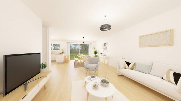 Maison+Terrain à vendre .(114 m²)(SOIGNOLLES EN BRIE) avec (MAISONS.COM)