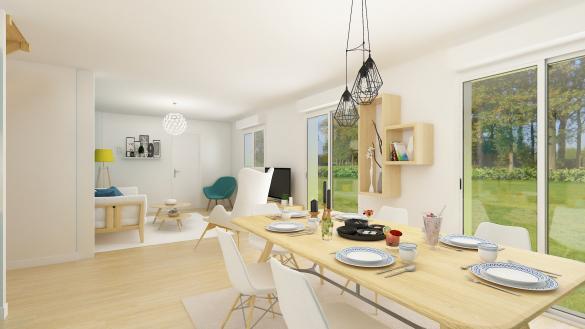 Maison+Terrain à vendre .(115 m²)(GUIGNES) avec (MAISONS.COM)