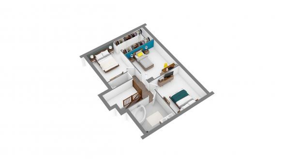 Maison+Terrain à vendre .(114 m²)(VERNEUIL L'ETANG) avec (MAISONS.COM)