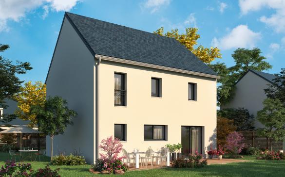 Maison+Terrain à vendre .(129 m²)(FAREMOUTIERS) avec (MAISONS.COM)