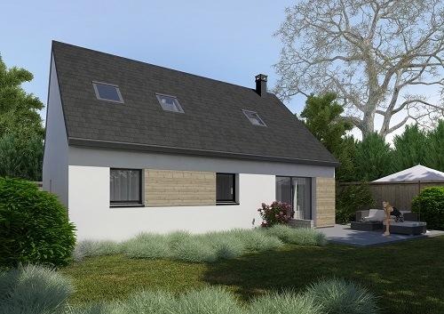 Maison+Terrain à vendre .(111 m²)(AUNEAU) avec (HABITAT CONCEPT)