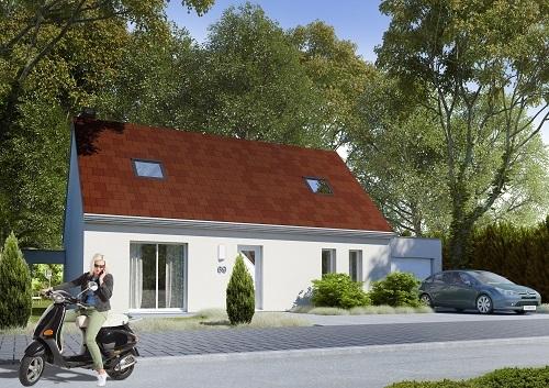 Maison+Terrain à vendre .(98 m²)(BRETEUIL) avec (RESIDENCES PICARDES)