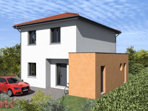 Maison à vendre .(100 m²)(SAINT EGREVE) avec (MAISONS ET VILLAS)