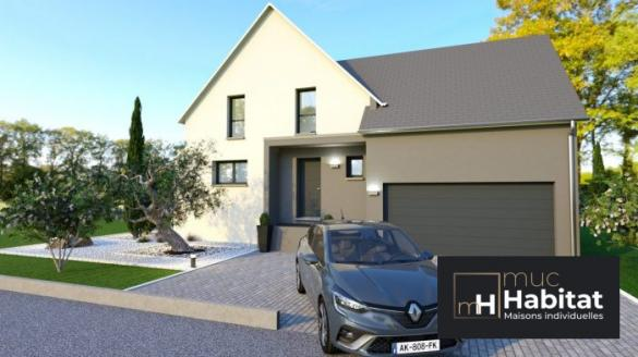 Maison à vendre .(140 m²)(BENFELD) avec (MUC HABITAT)