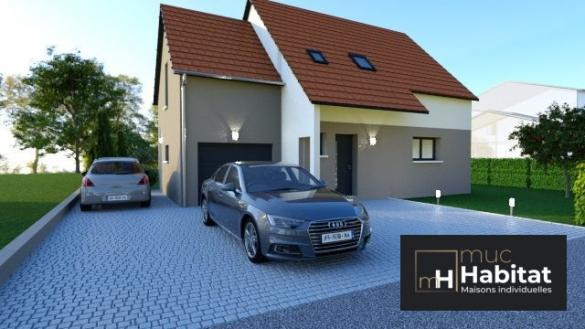 Maison à vendre .(120 m²)(BISCHOFFSHEIM) avec (MUC HABITAT)