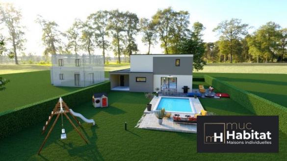 Maison à vendre .(130 m²)(WITTERSHEIM) avec (MUC HABITAT)