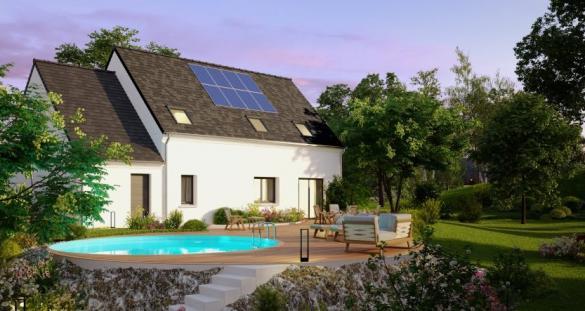 Maison à vendre .(124 m²)(HEUTREGIVILLE) avec (MAISONS PIERRE REIMS)