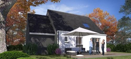 Maison+Terrain à vendre .(83 m²)(LE PLESSIS BELLEVILLE) avec (MAISONS.COM)
