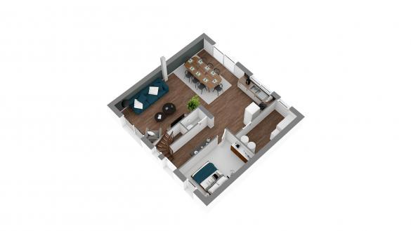 Maison+Terrain à vendre .(129 m²)(LA FERTE SOUS JOUARRE) avec (MAISONS.COM)