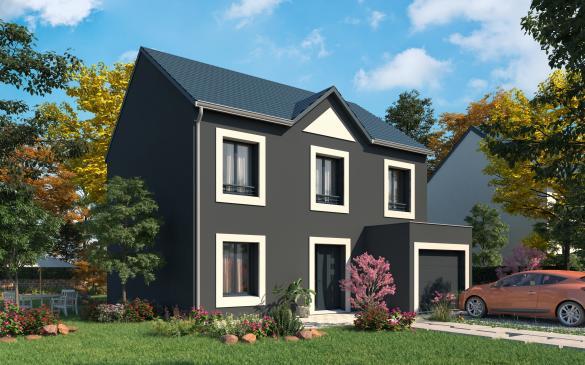 Maison+Terrain à vendre .(114 m²)(CAMBRONNE LES RIBECOURT) avec (MAISONS.COM)